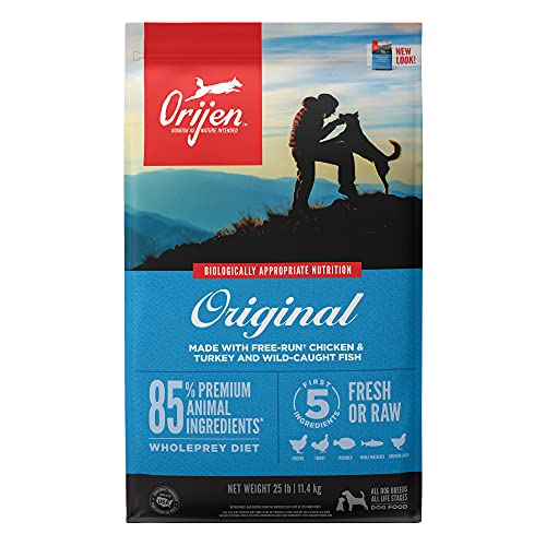 ORIJEN High-Protein, Grain-Free, Premium Quality Meat, Dry Dog Food