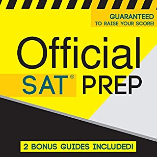 Official SAT Prep audiobook cover art