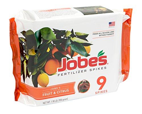 Jobe's 01312 1312 Fertilizer, 9 Spikes, Brown
