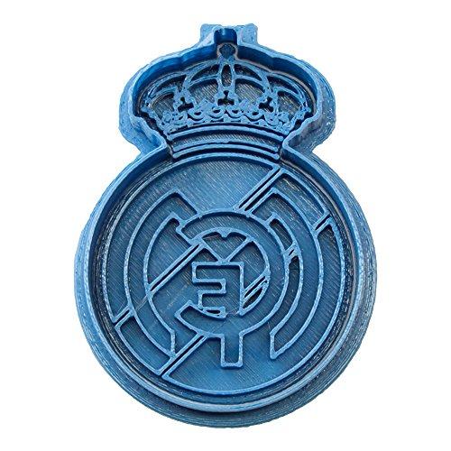 Cuticuter Fútbol Real Madrid Cortador de Galletas, Azul, 8 x 7 x 1.5 cm
