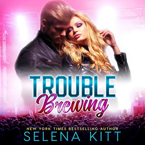 Trouble Brewing audiobook cover art