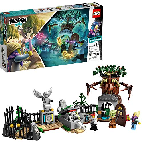LEGO Hidden Side Graveyard Mystery 70420 Building Kit, App Toy for 7+...