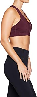 Rockwear Activewear Women's Mi Urban Perforated Zip Sports Bra From size 4-18 Medium Impact Bras For