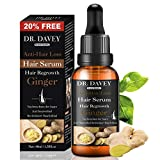 Hair Growth Serum vitamins serum for Hair Loss and Hair Regrowth Ginger Hair