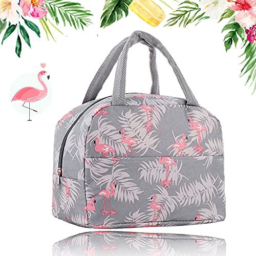 Bolsa Termica,Bolsas de Almuerzo Flamingo,bolsa de pícnic,Tela Impermeable Plegable para almacenar...
