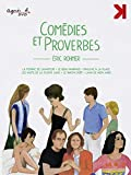 Eric Rohmer's Comedies and Proverbs - 12-Disc Blu-Ray/DVD Combo Box Set ( La femme de l'aviateur / Pauline à la plage / Le rayon vert / Le beau maria [ NON-USA FORMAT, Blu-Ray, Reg.B Import - France ]