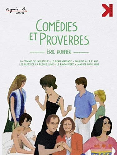 Coffret rohmer : comédies et proverbes [Blu-ray] [FR Import]