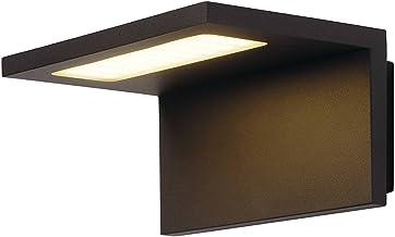 SLV wandopbouwarmatuur ANGOLUX WALL / verlichting voor wanden, paden, ingangen, led spot buiten, opbouwarmatuur outdoor, t...