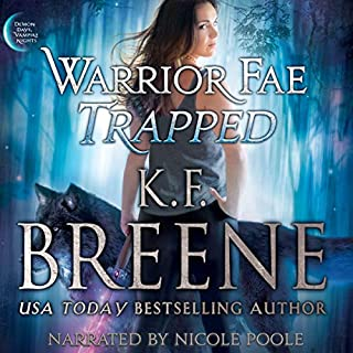 Warrior Fae Trapped cover art