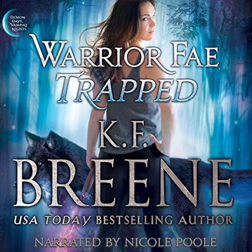 Warrior Fae Trapped audiobook cover art