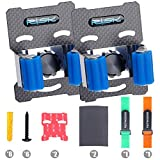VARWANEO Bicycle Buckle Clip,Stationary Garage Bike Stand Wall Mount Tire Rack Portable Bike Rack.Bike fix Clip Use Indoor and OutdoorW/2 Bicycle strap(2 PCS)CHRISTMAS GIFTS
