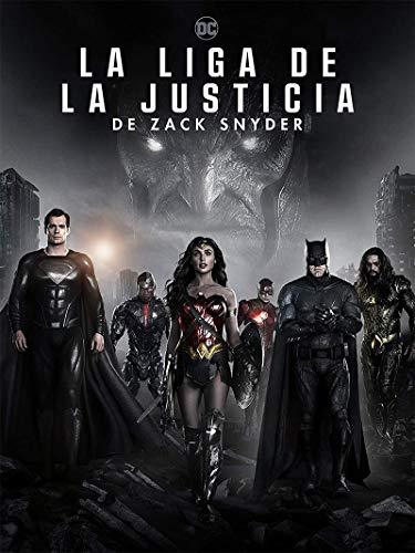La Liga de la Justicia de Zack Snyder (2 discos Blu-ray + 2 discos 4k UHD) [Blu-ray]