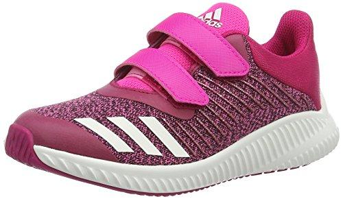 adidas adidas Fortarun Cf K, Unisex-Kinder Sneakers,Rosa (Shopin/Ftwwht/Bopink), 35.5 EU
