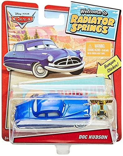Pixar Disney Cars 1:55 in scala Doc Hudson, Benvenuti a Radiatore Springs Series