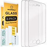 [3-PACK]-Mr.Shield Designed For iPhone 4/4S [Tempered Glass] Screen Protector with Lifetime Replacement