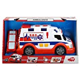 Dickie-203308360 Ambulancia, Azul, Rojo, Color Blanco (3308360)