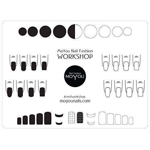 MoYou Nails Silikon-Unterlage zum Stempeln von Nägeln, schützt Oberflächen
