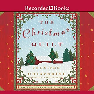 The Christmas Quilt                   By:                                                                                                                                 Jennifer Chiaverini                               Narrated by:                                                                                                                                 Christina Moore                      Length: 6 hrs and 30 mins     283 ratings     Overall 4.4