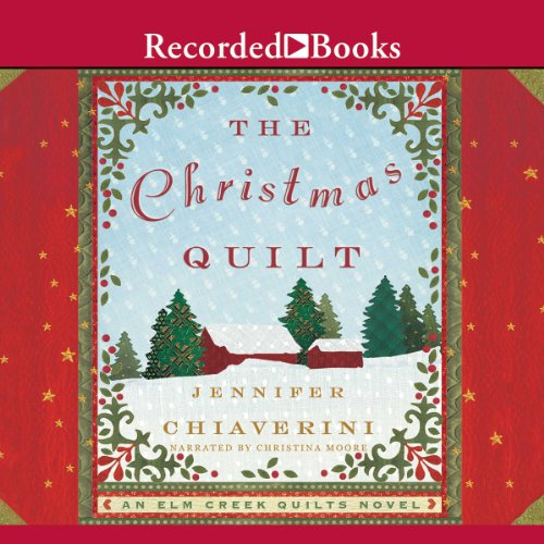 The Christmas Quilt audiobook cover art