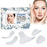 Facial Patches,Anti-Falten-Pflaster, Anti-Falten-Streifen, Stirn-Falten-Pflaster, Faltenbehandlung Glättende Falten-Pflaster