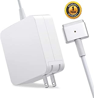 Sehonor Charger,Replacement for Mac Book Pro with 13 15 Inch Retina Display AC 85w Power Adapter magsafe2 Charger (T-Tip) After 2012