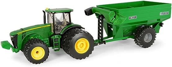 John Deere Ertl 8260R Tractor with Frontier Grain Cart (1:32 Scale)