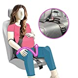 Maternity Seat Belt Adjuster, TUPSKY Car Pregnant Seatbelt Protection for Pregnant Women Belly Safety and Comfort Protect Unborn Baby (Black)