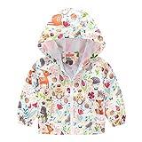 LINSINCH Manteau pour Bébés Fill...