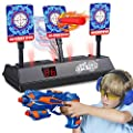 CPSYUB (2020 Updated Edition) Electric Digital Target for Nerf Guns Toys,Scoring Auto Reset Nerf Target for Shooting with Wonderful Light Sound Effect Nerf Guns for Boys Girls?Only Target? from PP Honey