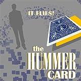 Hummer Card, Ufo-Card Effect - Unglaublich, diese Karte fliegt wirbelnd durch die Luft, Schwebende Karte, Whirling Card, Fliegende Karte, Ufo-Karte, Propeller-Karte, Zaubertricks und Zauberartikel