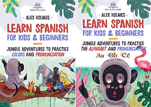 Early Readers Kids and Beginners Spanish with Sony (2 Book Series)
