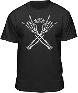 Army of Darkness Rock On Adult Horror Evil Dead T-Shirt