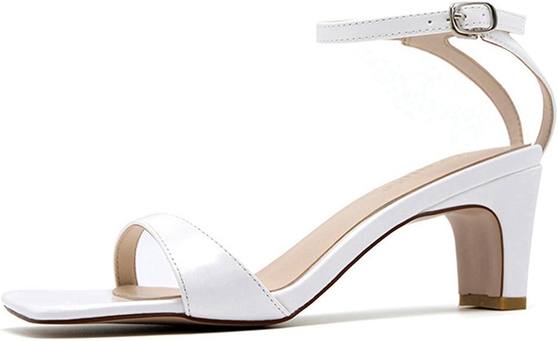 CYBLING Womens Dress Sandals Open Toe Ankle Strap Slingback Heeled Sandal Comfort Summer shoes