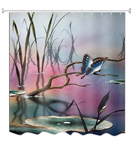 cortina ducha 180×200 de la marca A.Monamour