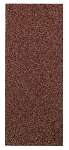 kwb Korund Schleifpapier-Set – für Holz und Farbe, K 60, K 80, K 120, K 180, 115 mm x 280 m, für Schwingschleifer (50 Stk. - Sparpack)