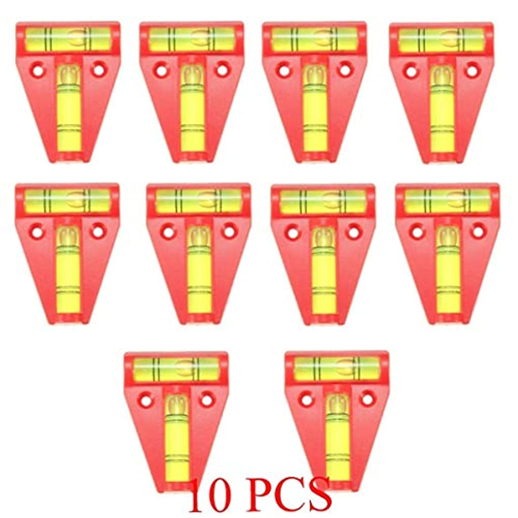 TOYECOTA - 10pcs T-Level Tool RV Tralier Motorhome Truck Boat Parts Accessories Console Table Measurement Level Bubble