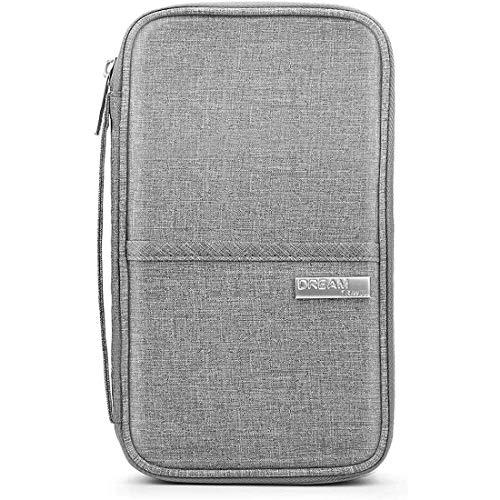 パスポートケース スキミング防止 パスポートバッグ 防水 海外 旅行用品 通帳ケース 収納 大容量