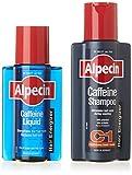 Alpecin Duo energizante champú Cafeína C1 + Tónico con Cafeína Líquida