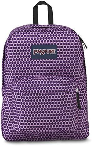 JanSport Superbreak Backpack Sale Colors Urban Optical Purple product image