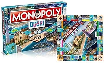 Hasbro Monopoly Dubai Official Edition 1 DGR, Blue
