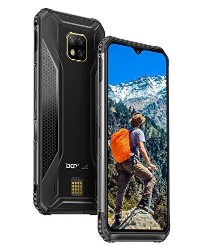 DOOGEE S95 PRO 2020 Rugged Smartphone Unlocked 4G, Helio P90 8GB RAM +128ROM IP68 Waterproof Rugged Cell Phones Dual SIM, Android 9.0, 48MP+8MP+8MP+16MP AI Camera, 6.3 inch FHD+, 5150mAh, NFC