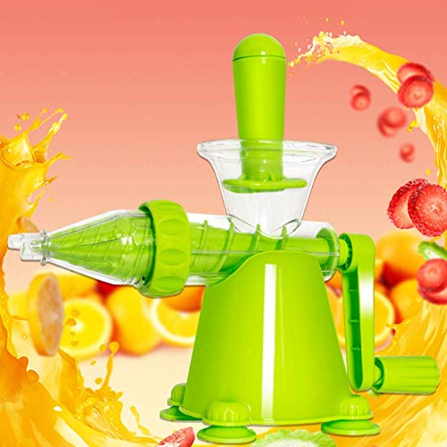 Máquinas de exprimidor, exprimidor de frutas de manubrio manual semiautomáticas de manzana semiautomáticas Juicer Multifunción de múltiples funciones. Cinturón portátil del hogar Material de salud amb