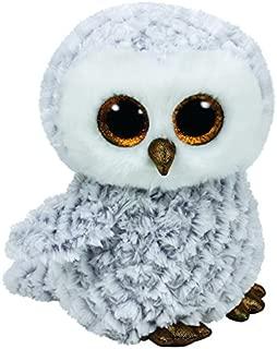 Ty Beanie Boos Owlette - White/Gray Owl Medium