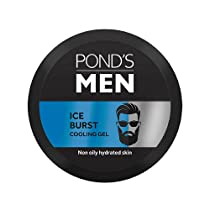 [Pantry] Ponds Men Ice Burst Cooling Face Gel, Non-Oily And Hydrated Look, Enriched With Menthol And Vitamin E 55 g