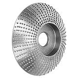 Disque de façonnage en bois, meule de meuleuse d'angle en acier à grande vitesse, rond, disque de façonnage de spéléo en bois, disque abrasif pour meuleuse d'angle