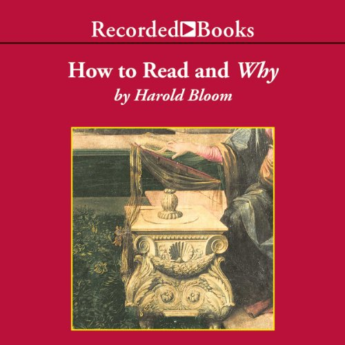 How To Read and Why audiobook cover art