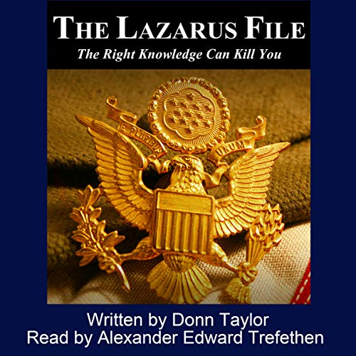 The Lazarus File audiobook cover art