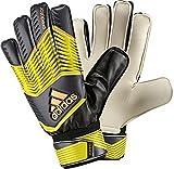 adidas Torwarthandschuhe Predator Training - Guantes de Portero para fútbol, Color Amarillo (Bright Yellow/Dark Grey/Flash Orange s15), Talla 8.5