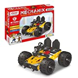 Mechanix Basic Series, 90 Pieces In The Game, Can Make 6 Different Models, Made In India Game, For 7+ Years of Kids. Parts are made from good quality of metal, plastic, and rubber. Improve your child Imagination, Creativity, Motors Skills, and Hand a...