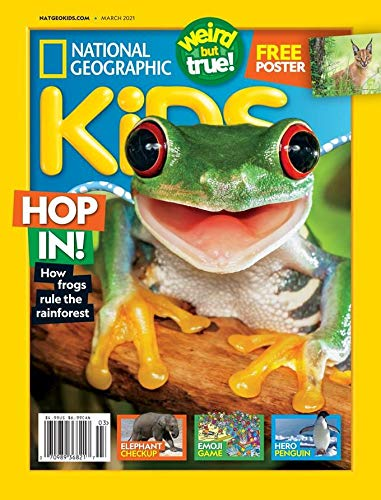 One-year subscription to National Geographic Kids magazine